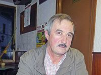"""Manuel Soto. Presidente de la Asociación de Cazadores """"El Salvador"""""""