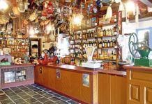 Recreación de tienda de ultramarinos en el Museo Etnográfico de Grandas de Salime.