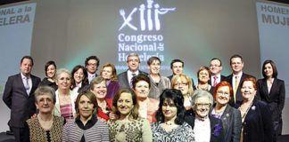 Miembros del Club de Guisanderas de Asturias
