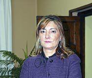 Esther Díaz, alcaldesa de Langreo.