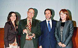 El Consorcio Montaña Central de Asturias galardonado en los premios Sociedad de la Información en Asturias 2010