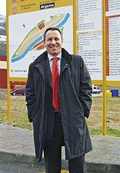 Pablo Sanzo, Presidente de la Entidad de Conservación del Parque Empresarial del Argame.