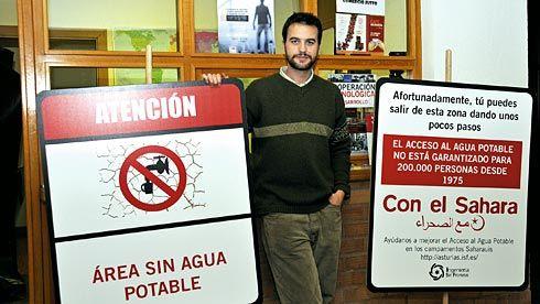 José Antonio Gallego. Presidente de Ingeniería Sin Fronteras de Asturias