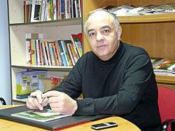 Angel González. Presidente de la Asociación de Empresarios del Polígono de Perográn.