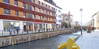 Río Ebro, a su paso por Reinosa