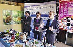 Presentación de los Menús de Antroxu, en la edición de 2010.