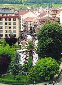 Panorámica de Grado durante la celebración de la Primera Flor.