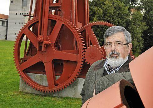 Gonzalo Morís Menéndez. Autor de 'Ingenios Hidráulicos Históricos'.