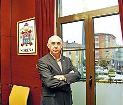 César Movilla Anta. Alcalde de Noreña.