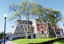 Antiguo depósito de agua, hoy sala de exposiciones (Noreña)