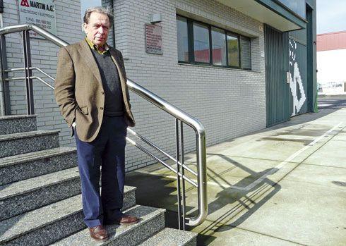 Martín Alonso García, Presidente de la Asociación de Empresarios del PEPA