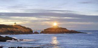 Atardecer en Illa Pancha. Ribadeo (Lugo)