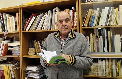 Juan Ignacio Ruiz de la Peña. Director del RIDEA (Real Instituto de Estudios Asturianos)