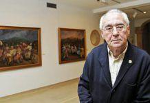 Emilio Marcos Vallaure. Director del Museo de Bellas Artes de Asturias