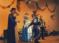 Fiesta de disfraces en Blimea, en 2010