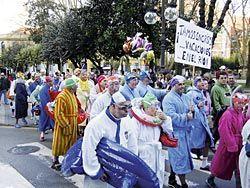Desfile en Langreo, año 2010