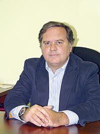 Delfín Cuervo, Presidente de la Asociación de Empresarios del Polígono de Asipo.