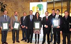 Primeras pymes asturianas certificadas en eficiencia eléctrica.