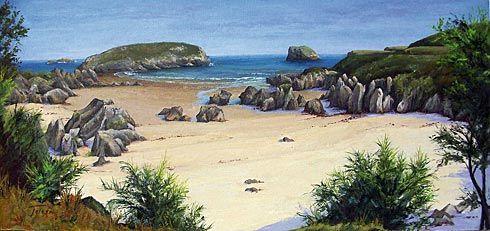 Playa de Sorraos, Llanes
