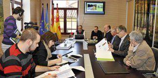 El Grupo de Acción Local de la Montaña Central en la presentación del Anillo Ciclista en Morcín.