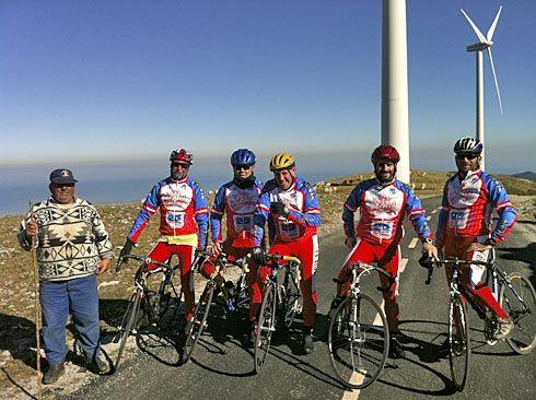 En bici por la Sierra de Los Baos, concejo de Cudillero. Asociación Sin Fronteras (Muros de Nalón).