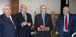 Alvarez Areces, José Marino y José Manuel García -de La Luarquesa-, y Pepe Santiago.