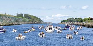 Fiestas de la Barca, en la Ría de Navia