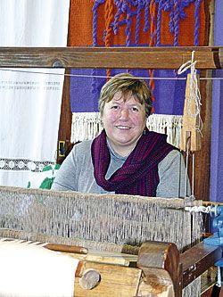 Pilar Quintana. Artesana del telar (Taramundi)