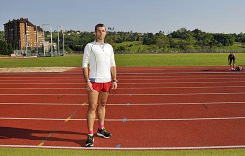 Alberto Suárez, atleta.