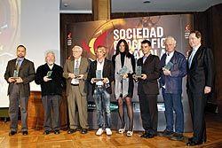 Premios concedidos por la Sociedad Geográfica Española.