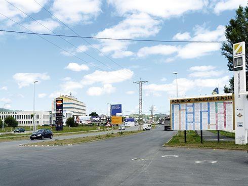 Polígono Industrial de Silvota.