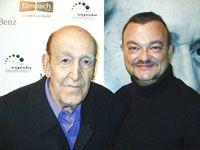 Xaviel Vilareyo y Carlos Blanco, guionista de cine.
