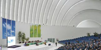 Asamblea Anual de Caja Rural en el Calatrava, el pasado 9 de junio.