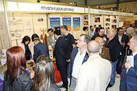 Stand de Fusión Asturias, presente en la X Feria de Muestras del Occidente Astur
