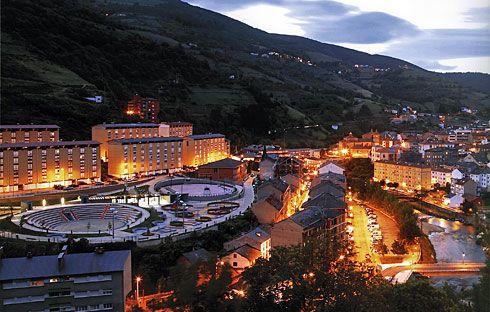 Vista general de Cangas del Narcea.