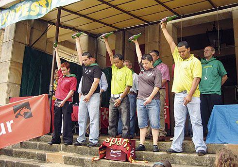 Del 8 al 10 de julio se celebra el Festival de la Sidra en Nava.