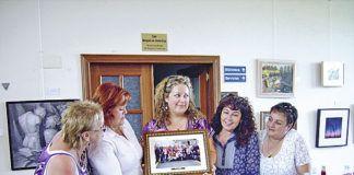 Asociación de Mujeres La Romanela. Intercambio de regalos con la Asociación de Mujeres de Villabona