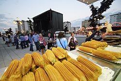 Fiestas en el barrio de La Corredoria.