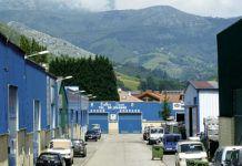 Polígono industrial Santa Rita (Parres).