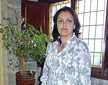 Rosario Fernández Román. alcaldesa de Ribadesella