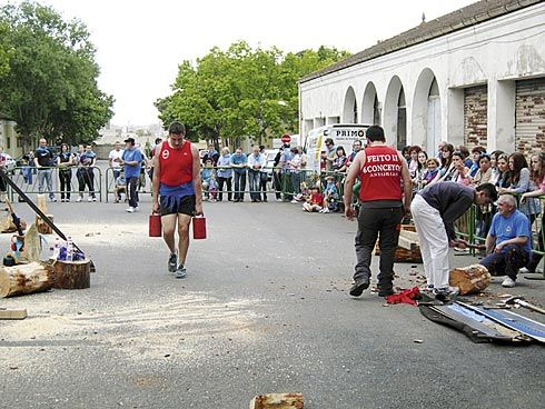Club Deportivo 6 Conceyos. Carrera de lecheres.