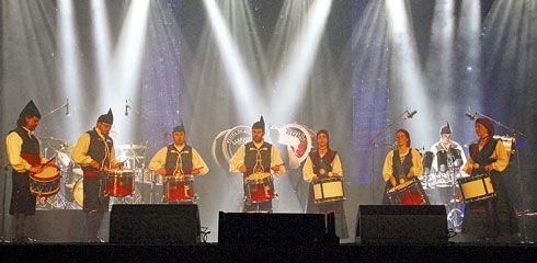 Banda de Gaitas Llariegu. Foto: Iván Jambrina.