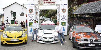Ganadores de la anterior edición del Rally Sprint de Castropol