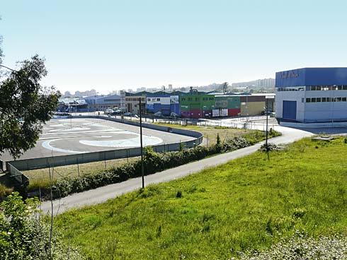 Polígonos Industriales de Mora Garay y Balagón (Gijón)