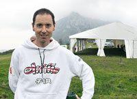 Santi Pérez. Ciclista del equipo luso Barbot - Epafel