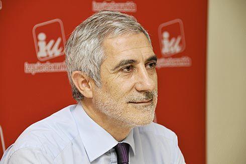 Gaspar Llamazares. Político