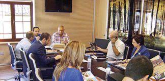 Comisión del Grupo de Acción Local, en Morcín.