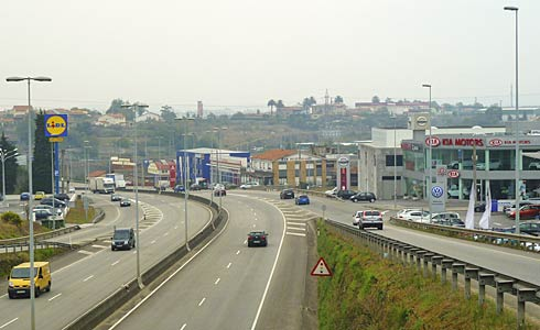 Polígonos Industriales de Roces y Porceyo (Gijón).