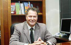 Félix Baragaño. Presidente de la Cámara Oficial de Comercio, Industria y Navegación de Gijón.