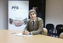 Roberto Rodríguez. Gerente de PFS-Astureco